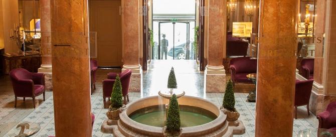 Hall d'entrée © Beau-Rivage Genève