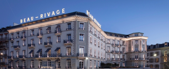 © Beau-Rivage Genève