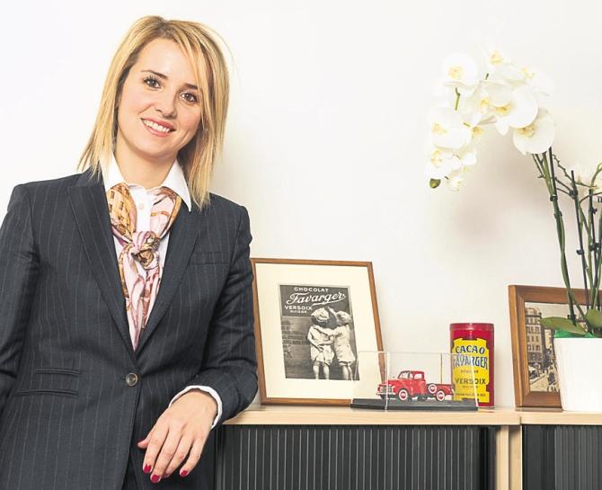 Vesna Žuvela, directrice de Favarger.  DR Laurence Rasti/Matin dimanche